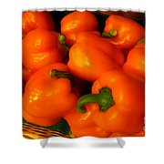 Peppers Plump And Pretty Shower Curtain