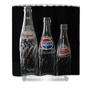 Pepsi Cola Bottles Shower Curtain