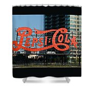 Pepsi-cola Shower Curtain