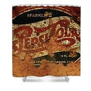 Pepsi Cola Vintage Sign 5b Shower Curtain