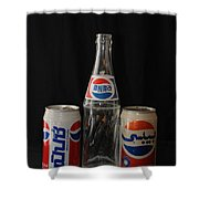 Pepsi From Around The World Shower Curtain