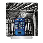 Pepsi Generation Palm Springs Shower Curtain
