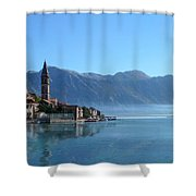 Perast Shower Curtain