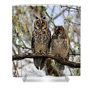 Perched And Posing Shower Curtain