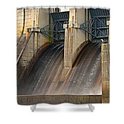 Percy Priest Dam Shower Curtain