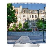 Perelman Quadrangle - University Of Pennsylvania Shower Curtain