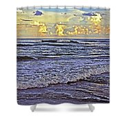 Perfect Beach Evening No.3 Shower Curtain