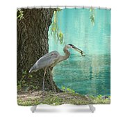 Perfect Catch Shower Curtain