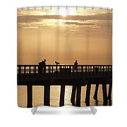 Perfect Day To Fish Shower Curtain