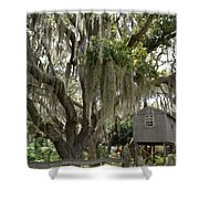 Perfect Hideout Shower Curtain