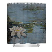 Perfect Lotus - Lmj Shower Curtain