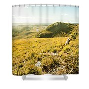 Picture Perfect Pastures Shower Curtain