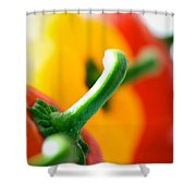 Perfect Peppers Shower Curtain