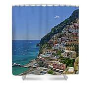 Perfect Positano Shower Curtain