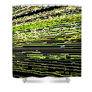 Perfect Resonance Shower Curtain