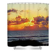 Perfect Sunset Cannon Beach I Shower Curtain