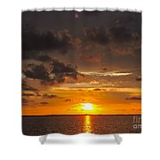 Perfect Sunset Shower Curtain
