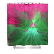 Perfectly Pansy 07 - Photopower Shower Curtain