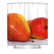 Perfectly Peared  Shower Curtain