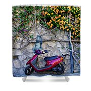 Perfectly Positano Shower Curtain