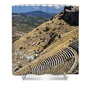 Pergamon Amphitheater Shower Curtain