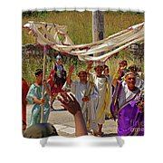 Period Performers At Ephesis Turkey Shower Curtain