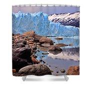 Perito Moreno 001 Shower Curtain