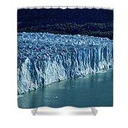 Perito Moreno Glacier #2 - Patagonia Shower Curtain
