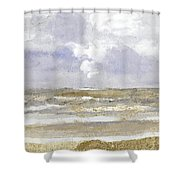 Periwinkle Coast Shower Curtain