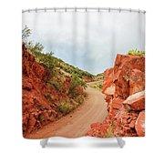 Perkinsville Road Shower Curtain
