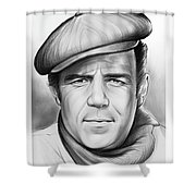 Pernell Roberts Shower Curtain