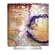 Perpetual Motion - Squared Shower Curtain