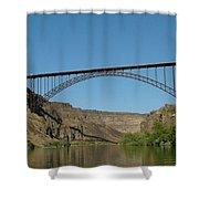 Perrine Bridge Shower Curtain