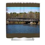 Perrine's Bridge In Spring #2 Shower Curtain