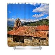 Perrozo-155a1000 Shower Curtain