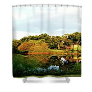 Perry Reflection Photo Shower Curtain