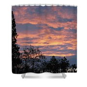 Perrydale Sunrise Shower Curtain