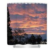 Perrydale Sunrise Shower Curtain