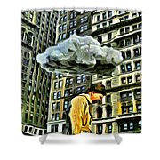 Persecuted Shower Curtain