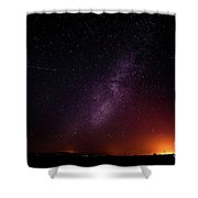 Perseid Meteor Shower 2016 Shower Curtain