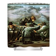 Perseus And The Graiae Shower Curtain