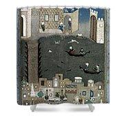Persian Miniature, 1468 Shower Curtain