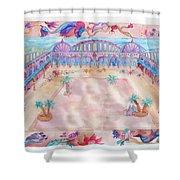 Persian Palace Shower Curtain