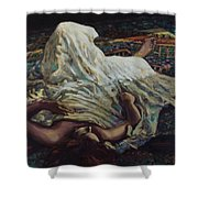 Persian Rugs Shower Curtain