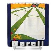 Persil - Statt Sonne - Vintage Advertising Poster For Detergent Shower Curtain