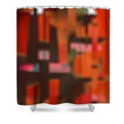Persona - Obscured Idol Adherence 2015 Shower Curtain by James Warren