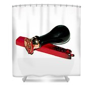 Personal Document Seal Shower Curtain
