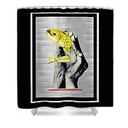 Personal Goldfish Shower Curtain