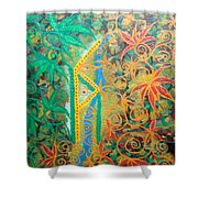Personal Power Shower Curtain