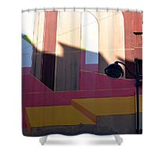 Perspective And Shadow Shower Curtain